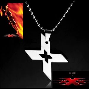 """Vin Diesel Double """"XX"""" Stainless Steel Necklace"""